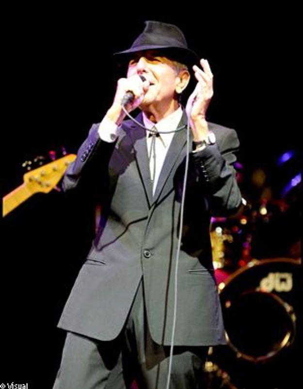 Leonard Cohen s'évanouit sur scène