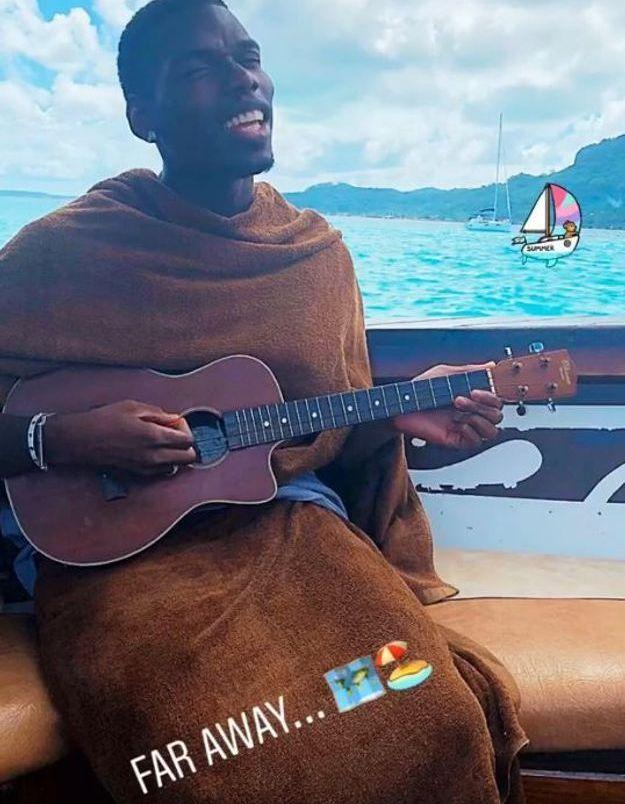 Paul Pogba se met à la chanson