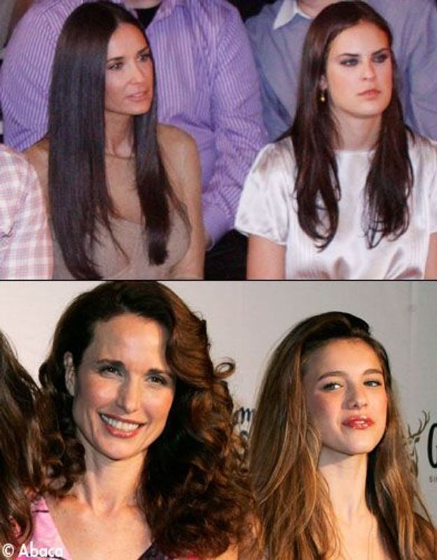 Les filles de Demi Moore et Andie MacDowell au Bal des débutantes