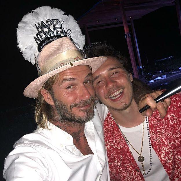 David et Brooklyn Beckham