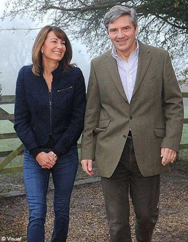Les parents de Kate Middleton ont enfin rencontré la reine