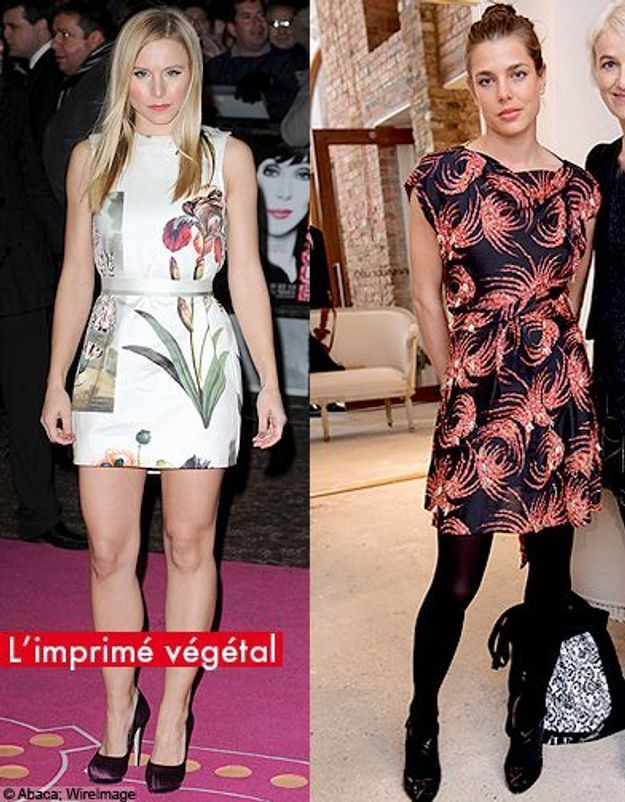 People mode tendance look printemps imprime vegetal