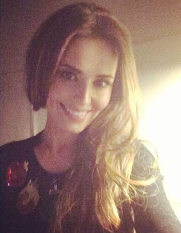 Le pull de Noël de Cheryl Cole