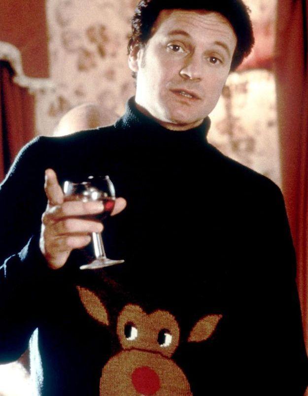 Le pull de Noël de Colin Firth