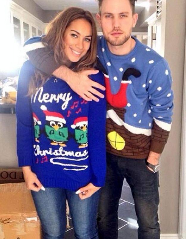 Le pull de Noël de Leona Lewis