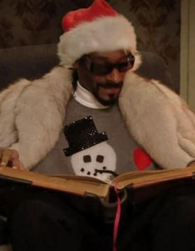Le pull de Noël de Snoop Dogg