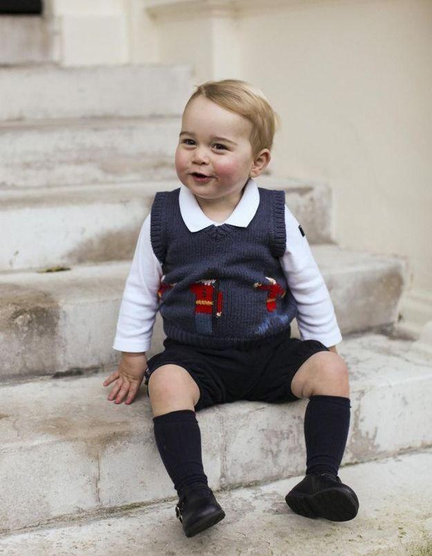 Le pull de Noël du Prince George