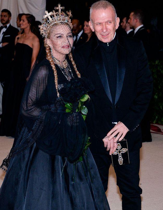 Les retrouvailles de Jean Paul Gaultier et Madonna à Paris