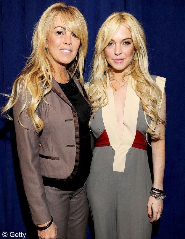 Lindsay Lohan agressée par sa mère pour de l'argent