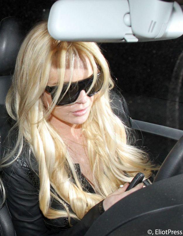Lindsay Lohan, arrêtée pour délit de fuite