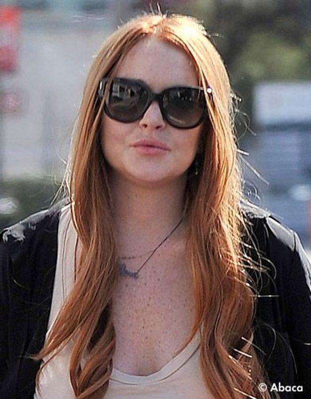 Lindsay Lohan au casting de «Glee»!