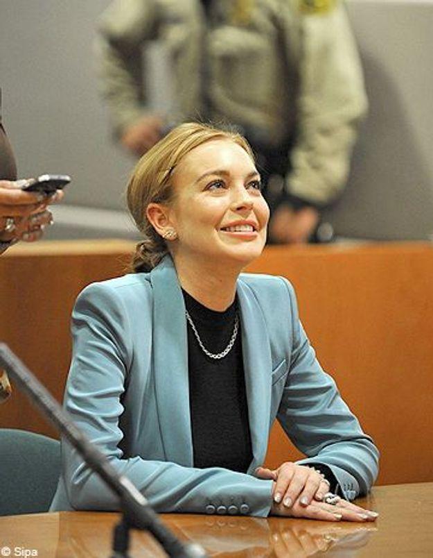 Lindsay Lohan enfin libérée de ses problèmes avec la justice!