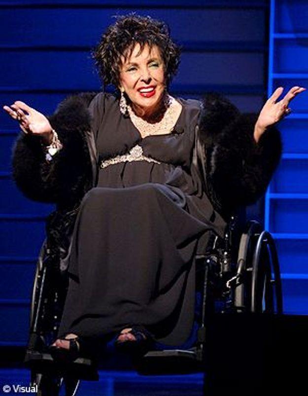 """Liz Taylor, opérée du coeur : """"Je vais très bien, merci !"""""""