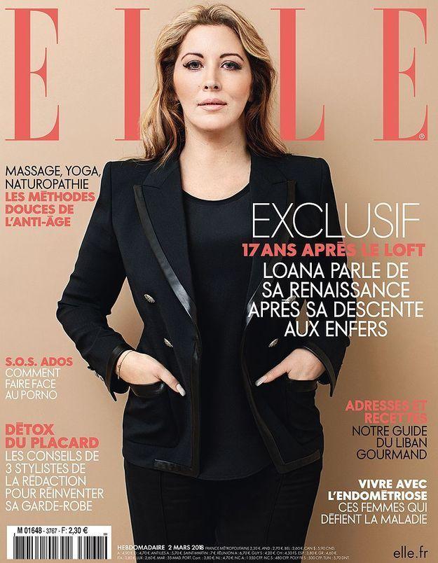 Loana, 17 ans après, elle revient en couverture de ELLE