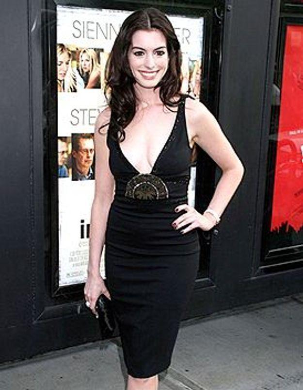 Look du jour : Anne Hathaway