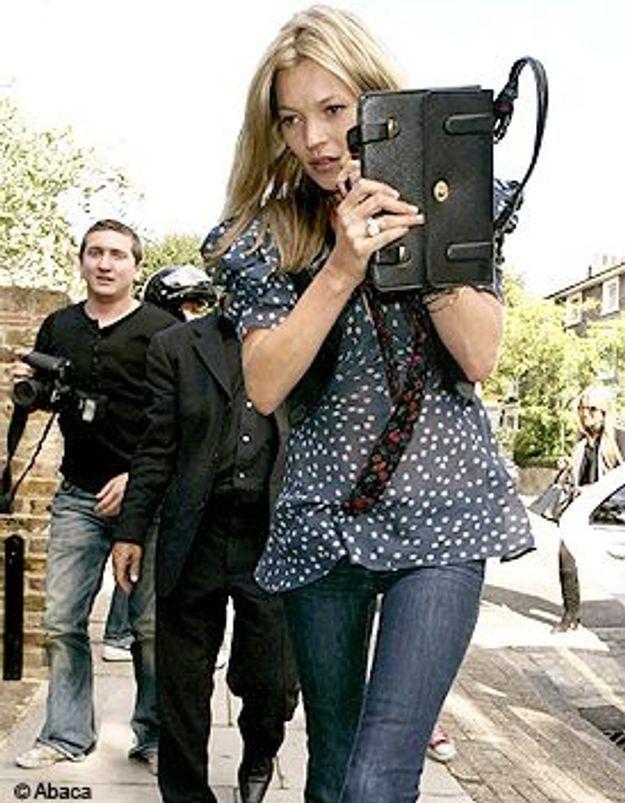 Look du jour : Kate Moss