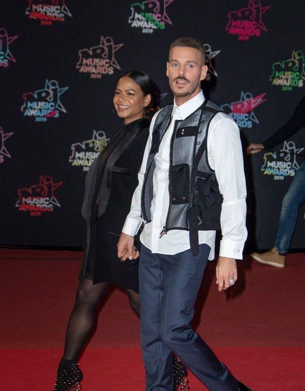 M. Pokora et Christina Milian parents : ils dévoilent le sexe et le prénom de leur 2e enfant