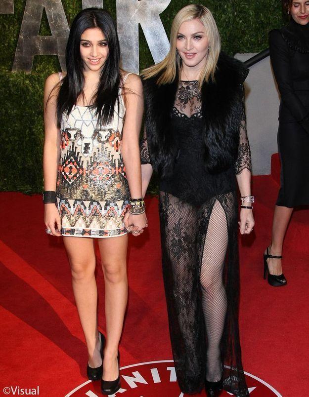 Madonna a engagé une sosie de sa fille Lourdes