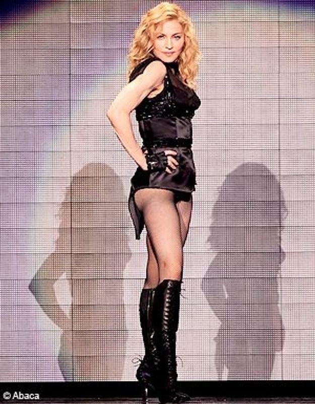Madonna en Russie : tenue correcte exigée !