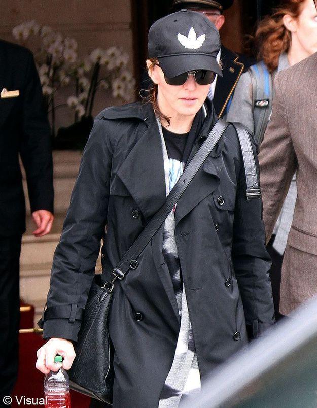 Madonna, fatiguée à Paris