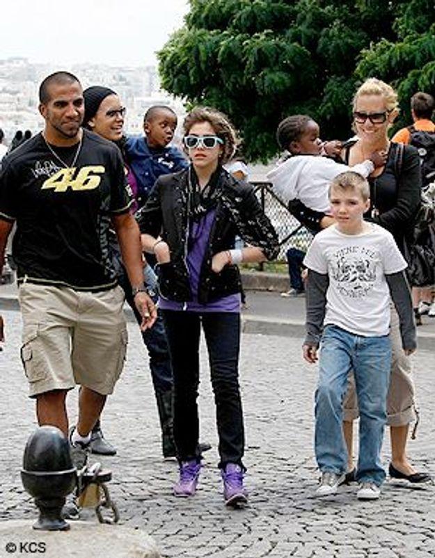 Madonna : maman répète, les petits font du tourisme à Paris