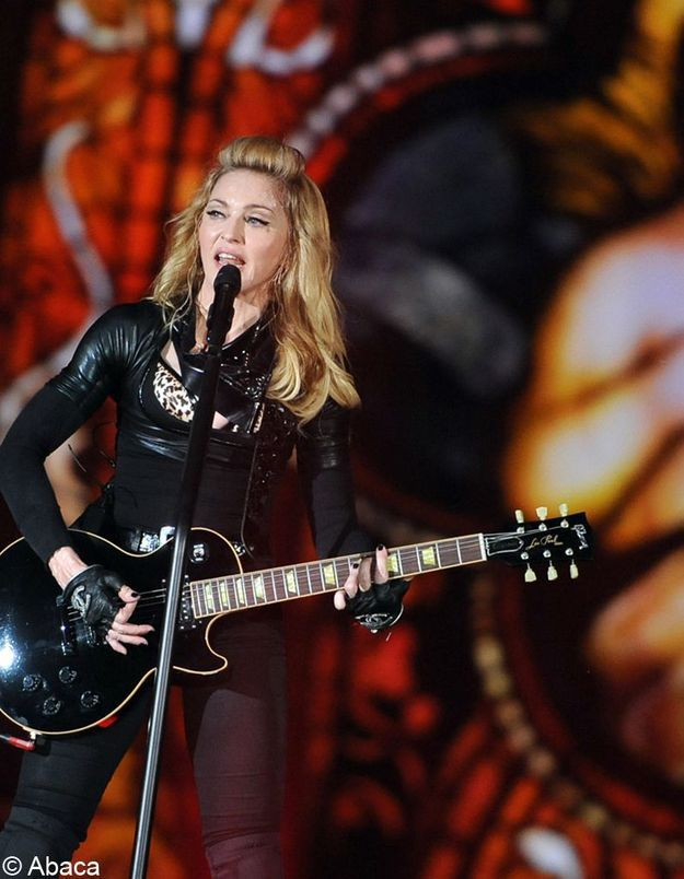 Madonna persona non grata en Russie ?