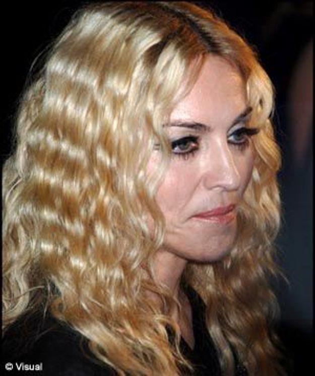 Madonna pique une crise !