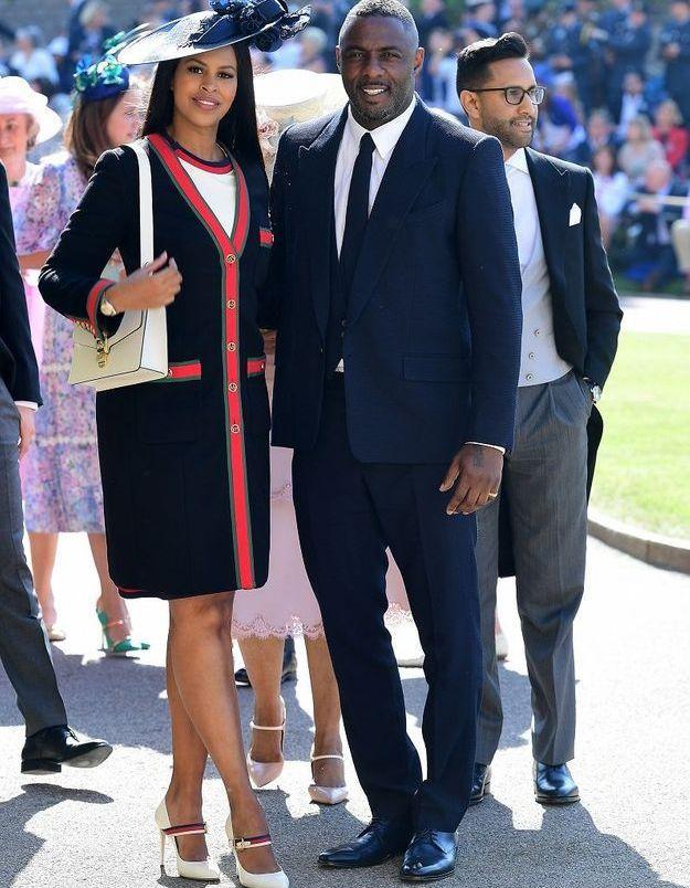 Idris Elba et sa fiancée