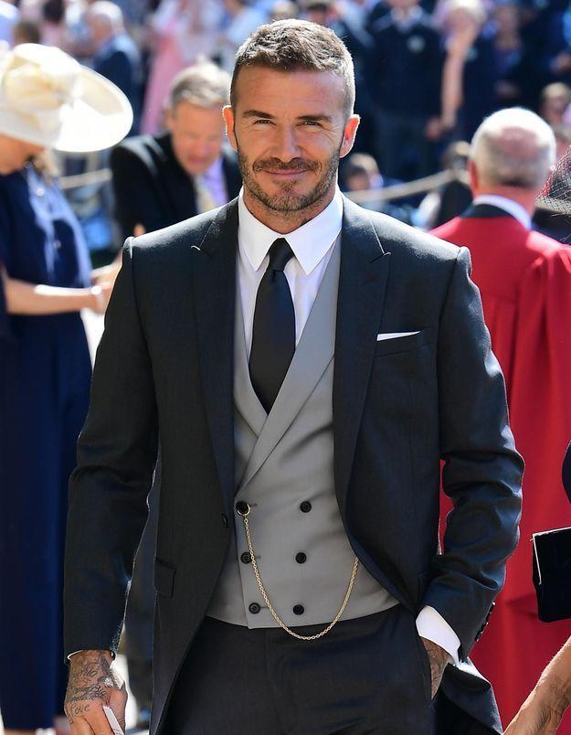 Mariage du prince Harry et Meghan Markle : le touchant message de David Beckham