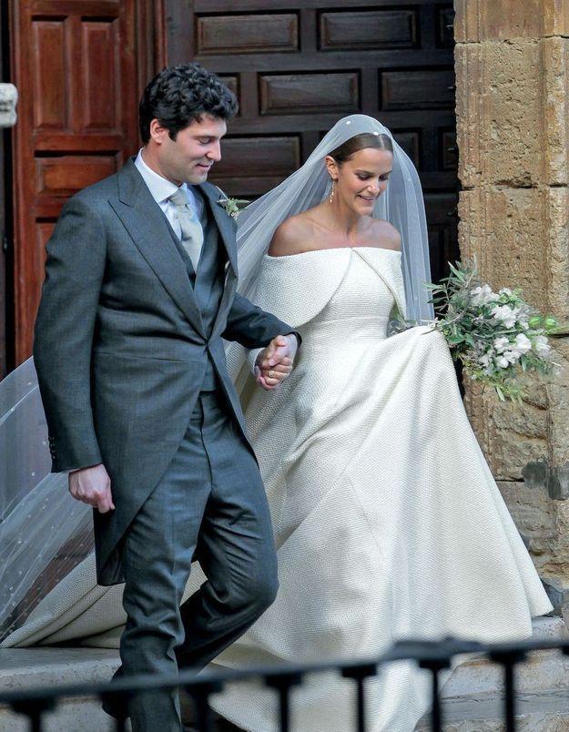 Mariage royal : Lady Charlotte Wellesley et Alejandro Santo Domingo, l'union la plus mondaine