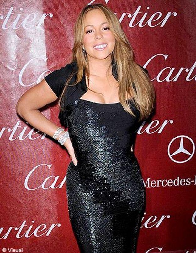 Mariah Carey affiche sa nouvelle silhouette à la télévision