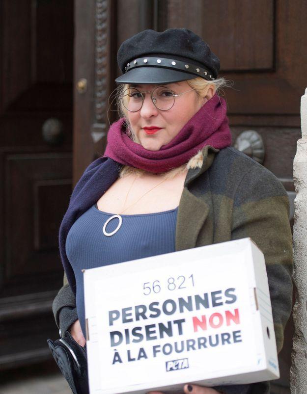 Marilou Berry : engagée pour la cause animale, elle manifeste devant un ministère !