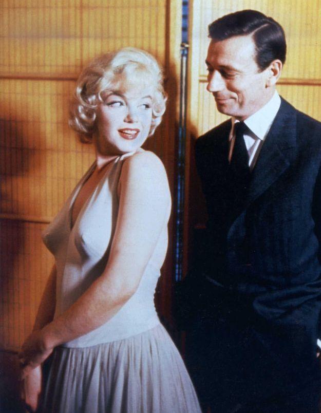 Marilyn Monroe enceinte d'Yves Montand : les photos troublantes, 50 ans après