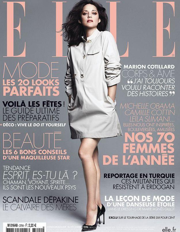 Marion Cotillard : ses confidences dans ELLE cette semaine