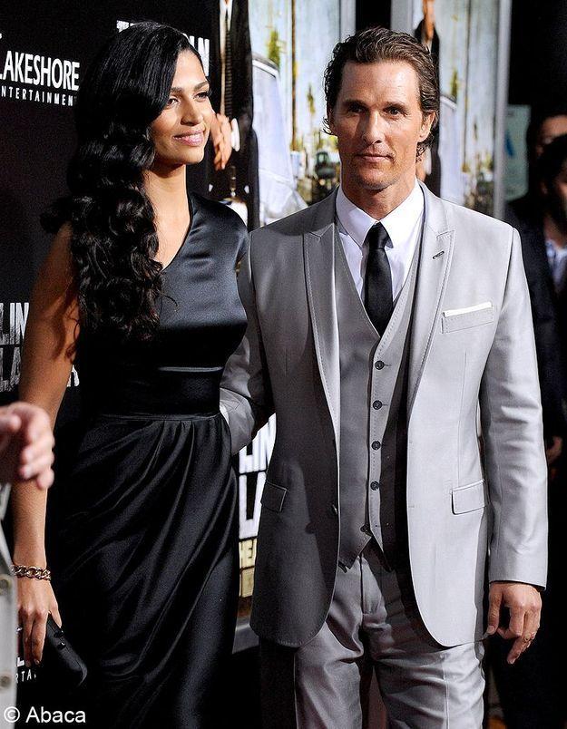 Matthew McConaughey et Camila Alves attendent un troisième enfant !