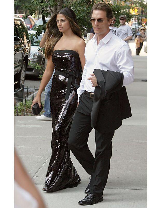 Matthew McConaughey épouse Camila Alves