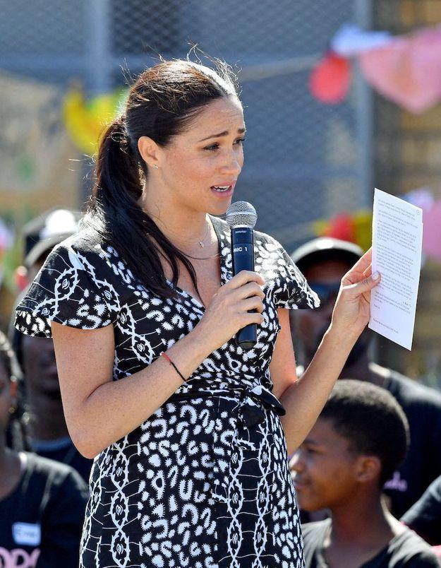 Meghan Markle : elle prend la parole pour les droits des femmes