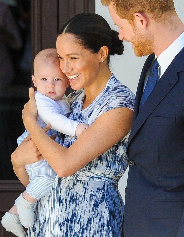 Meghan Markle et le prince Harry donnent des nouvelles d'Archie