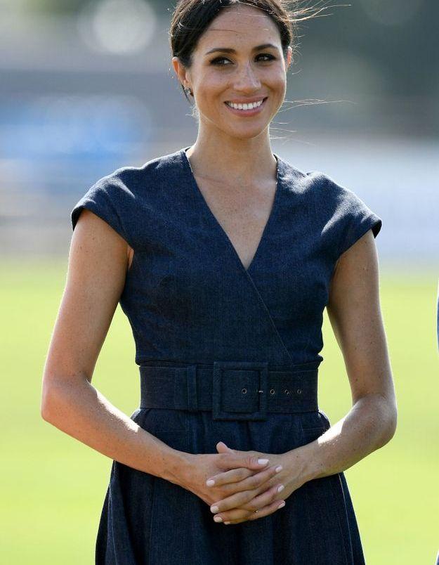 La duchesse de Sussex était rayonnante