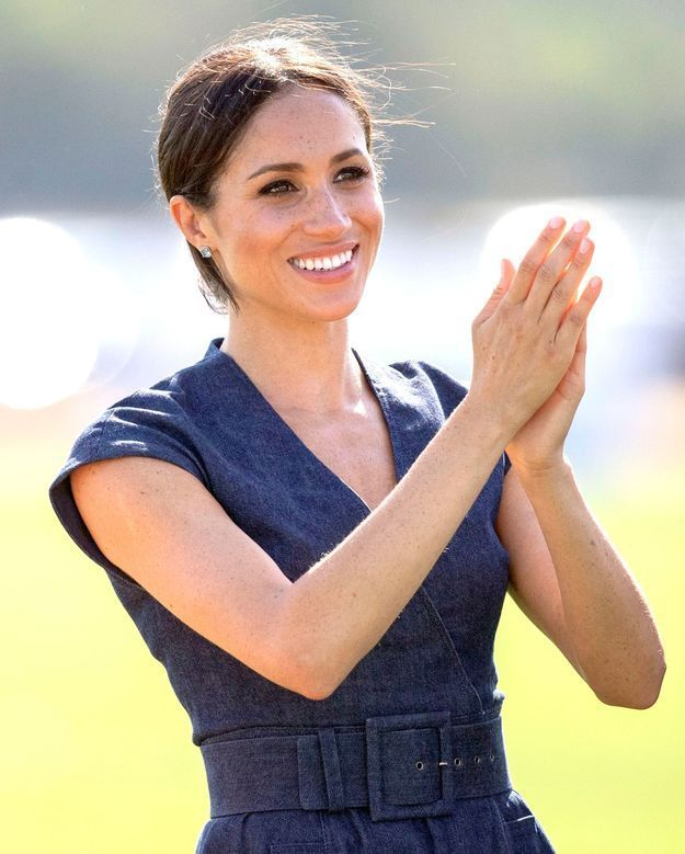 Meghan Markle a applaudi son prince
