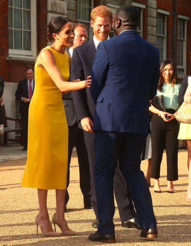 Meghan et Harry à Londres