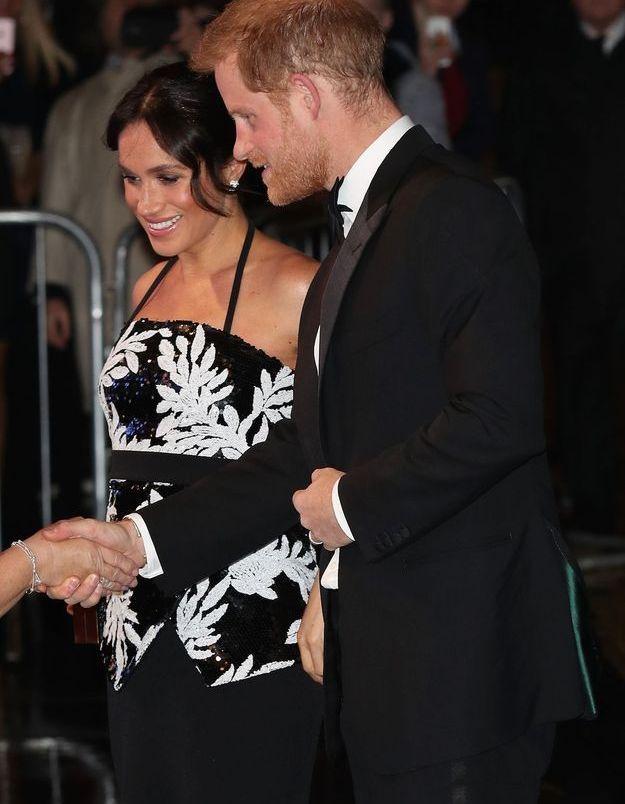 Avec le prince Harry