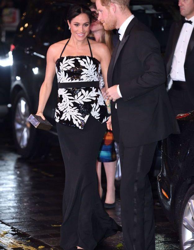 L'arrivée de Meghan Markle et du prince Harry