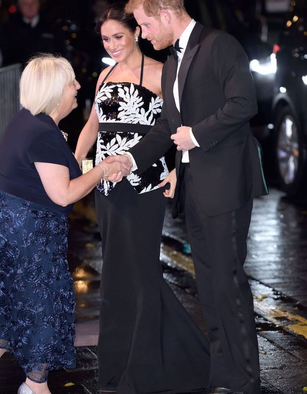 Meghan Markle et le prince Harry accueilli comme il se doit