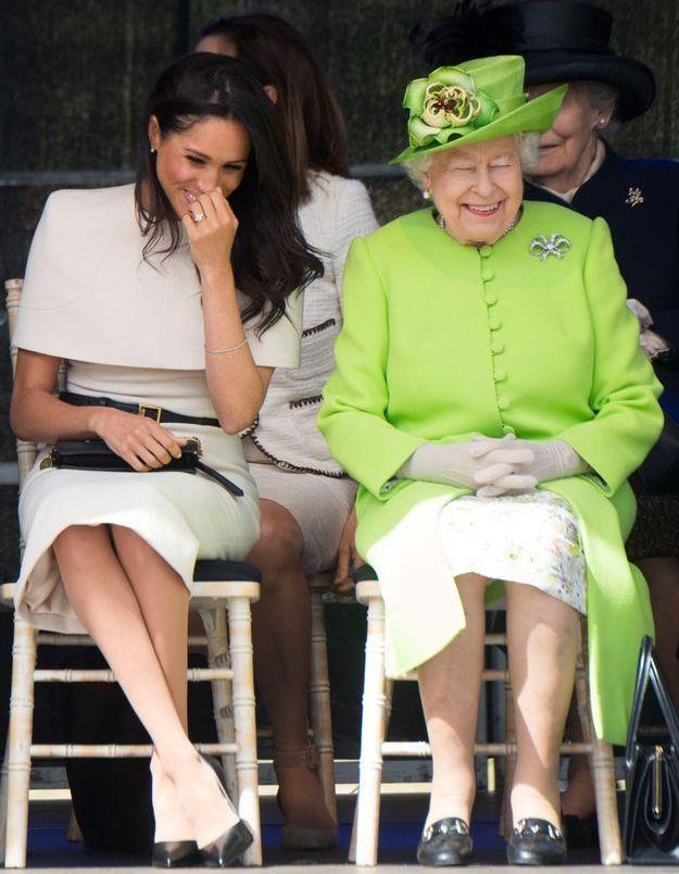 Complice avec Elizabeth II