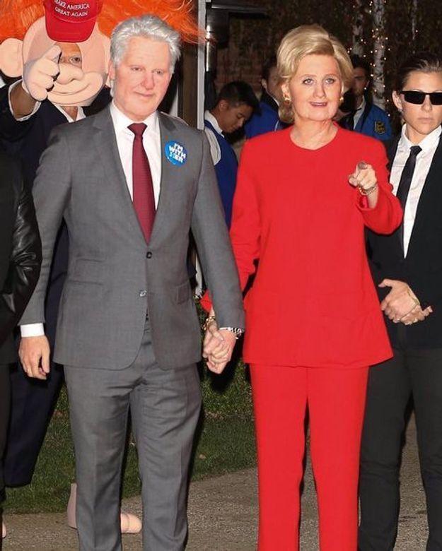 Katy Perry et Orlando Bloom, déguisé en couple Clinton pour Halloween