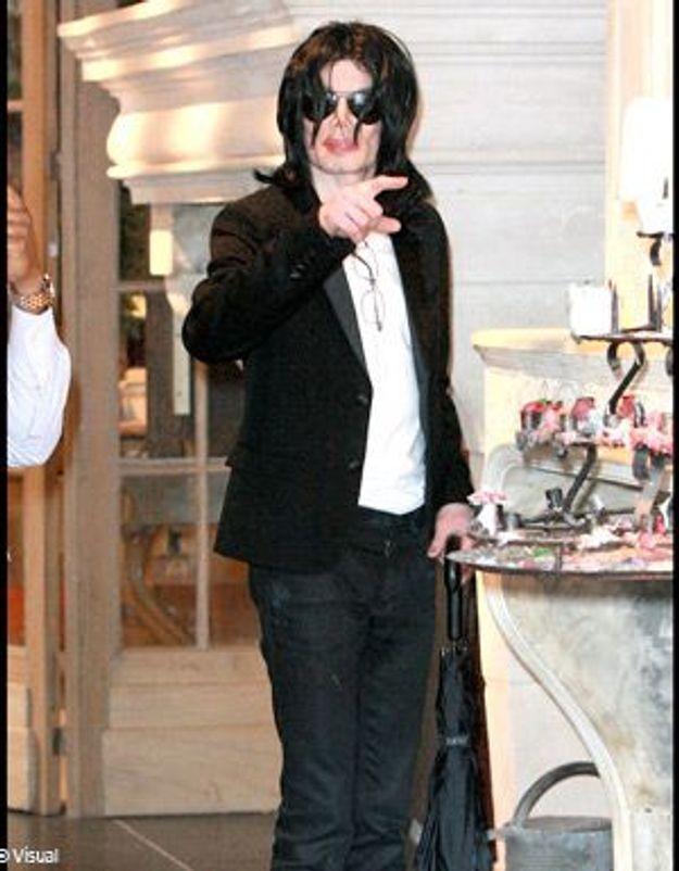 Michael Jackson fait son come-back sur scène