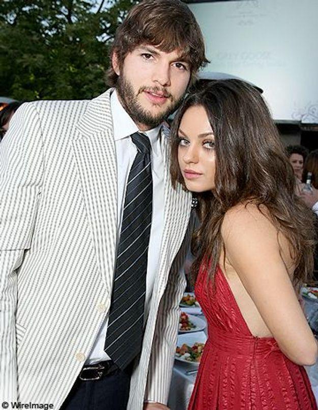 Mila Kunis dément être avec Ashton Kutcher!