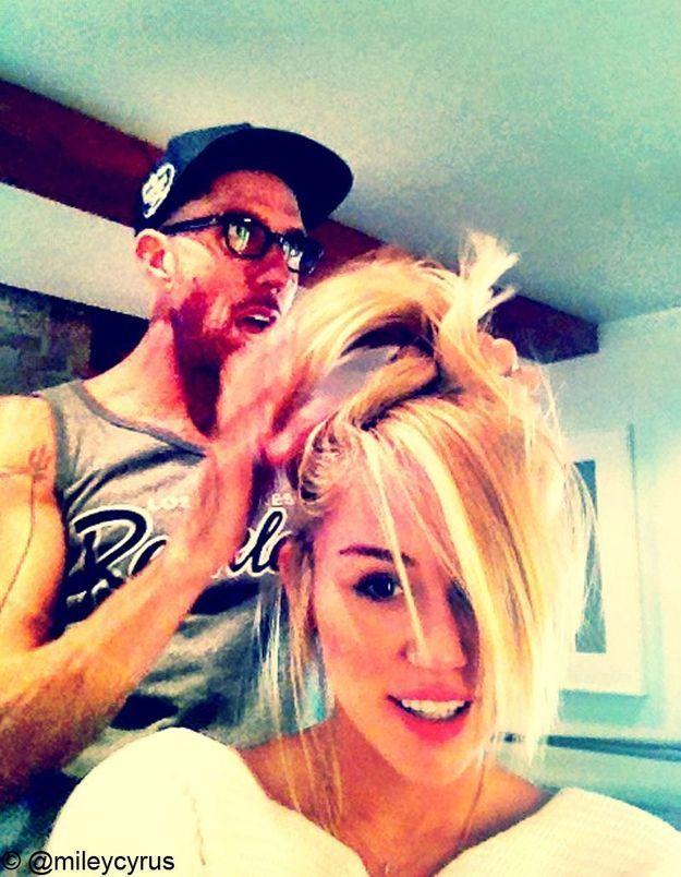 Miley Cyrus a fait don de ses cheveux à une association!