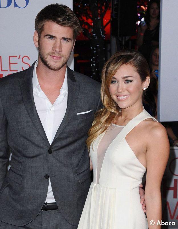 Miley Cyrus fiancée à Liam Hemsworth